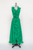 1960s green maxi dress from Dalena Vintage