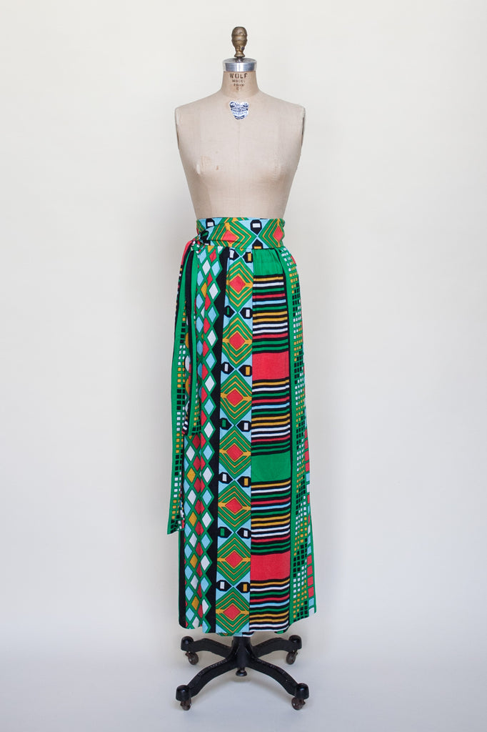 1960s maxi skirt from Dalena Vintage