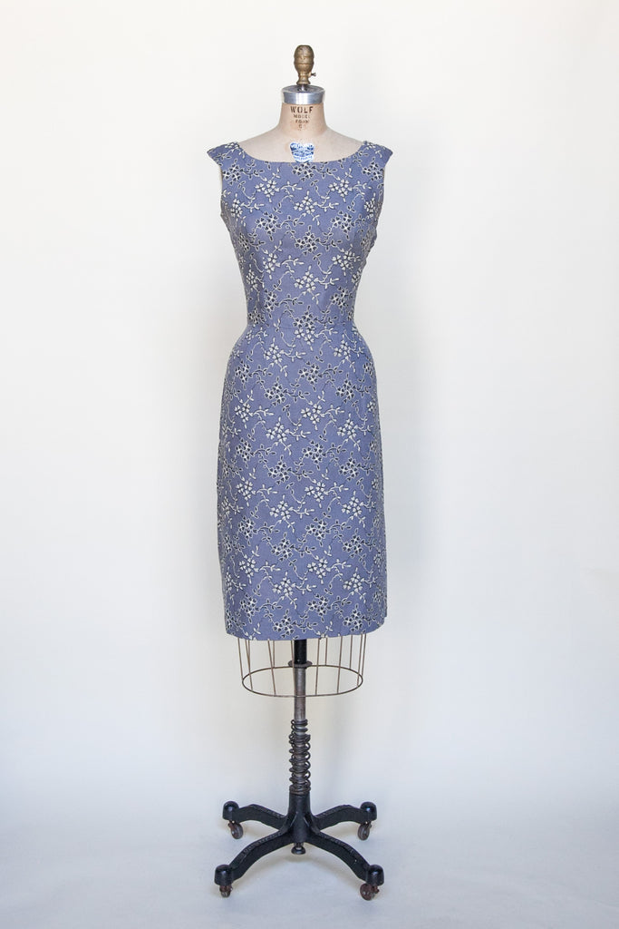 1960s embroidered dress from Onebigfishgreenevents