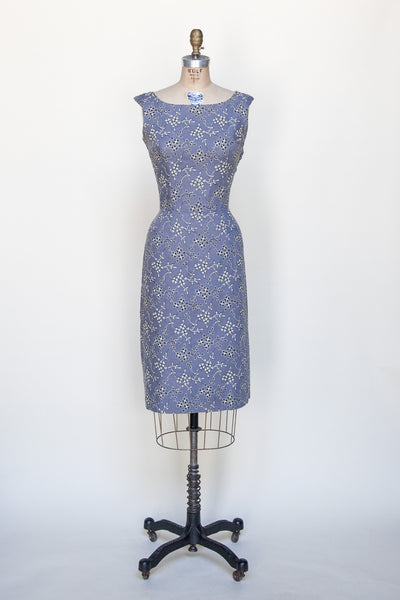 1960s embroidered dress from Dalena Vintage