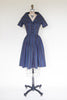 Vintage 1950s day dress from Onebigfishgreenevents