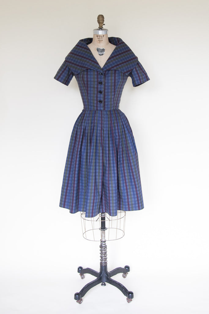 Vintage 1950s day dress from Dalena Vintage