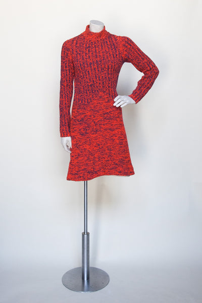 Vintage 1960s sweater dress from Dalena Vintage