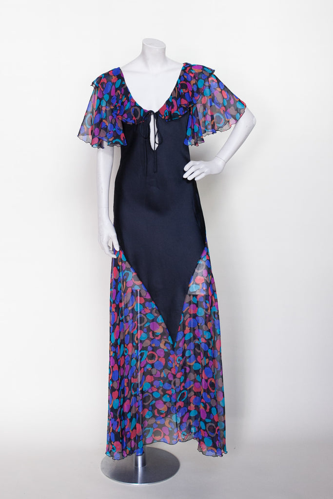 1970s Bob Mackie dress from Dalena Vintage