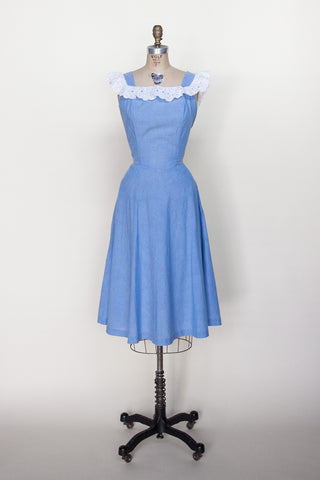 1970s day dress from Dalena Vintage
