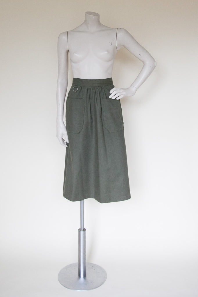 Vintage 1970s skirt from Velvetyogurt