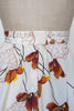 1970s autumn leaf skirt from Onebigfishgreenevents