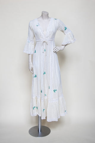 Vintage 1970s maxi dress from Dalena Vintage