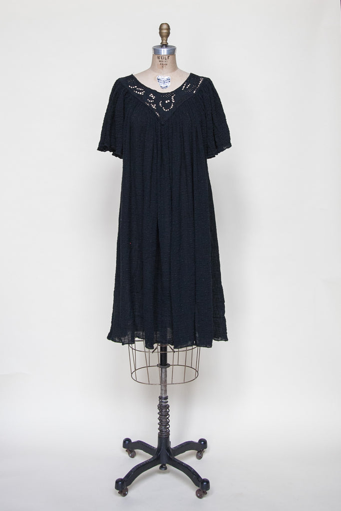 Vintage 1970s bohemian dress from Dalena Vintage