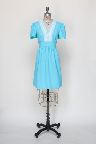 Vintage 1970s mini dress from Dalena Vintage