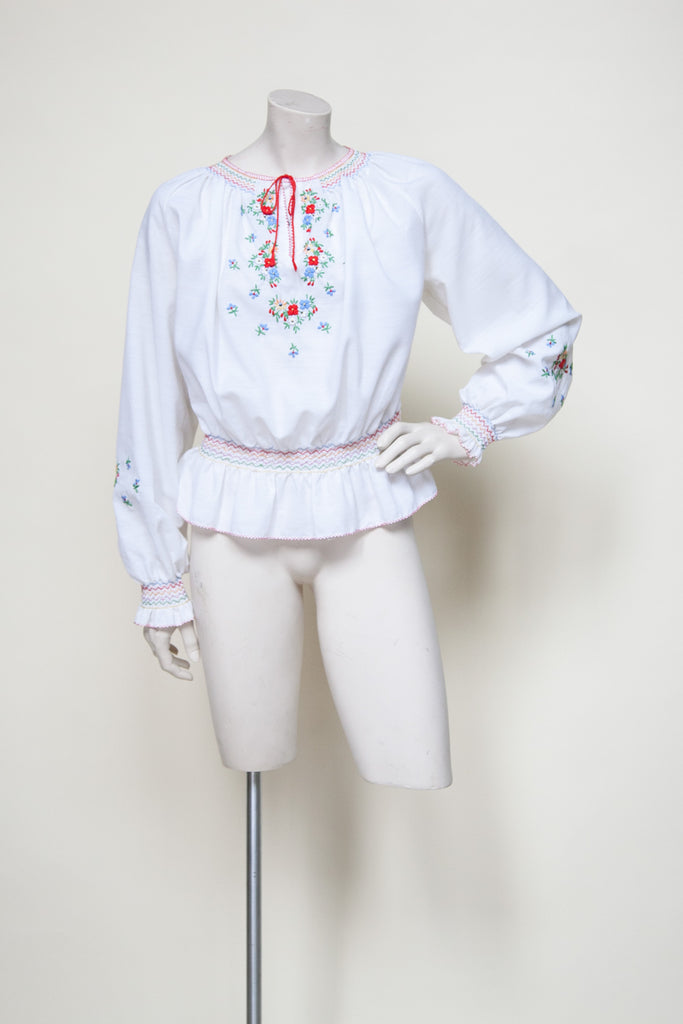 Vintage boho blouse from Velvetyogurt