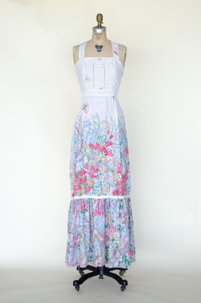 1970s maxi dress from Dalena Vintage
