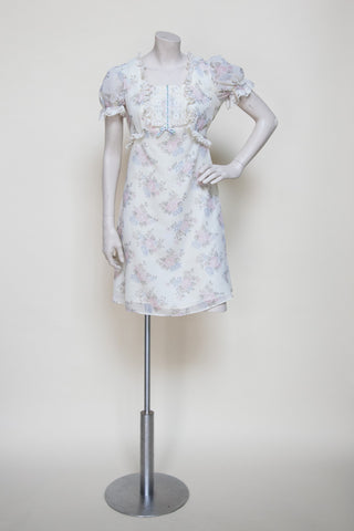 Vintage 1970s floral dress from Dalena Vintage