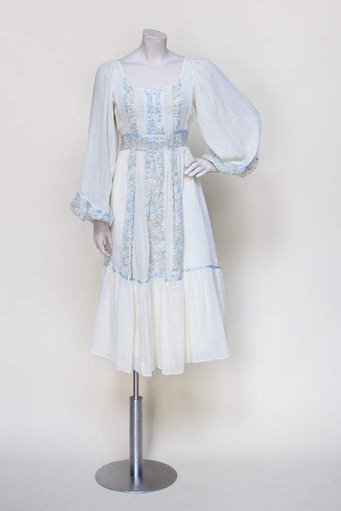 Vintage 1970s Gunne Sax dress from Dalena Vintage
