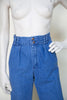1970s high waist blue jeans from Dalena Vintage