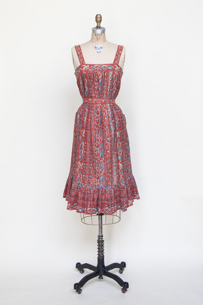 1970s dress from Dalena Vintage