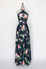 1970s Lillie Ruben maxi dress from Dalena Vintage