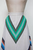 Vintage 1970s chevron skirt from Dalena Vintage