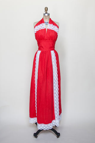 Vintage 1970s Mexican dress from Velvetyogurt