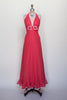 1970s red polka dot halter dress from Dalena Vintage