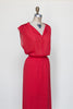 Vintage 1970s red dress from Dalena Vintage