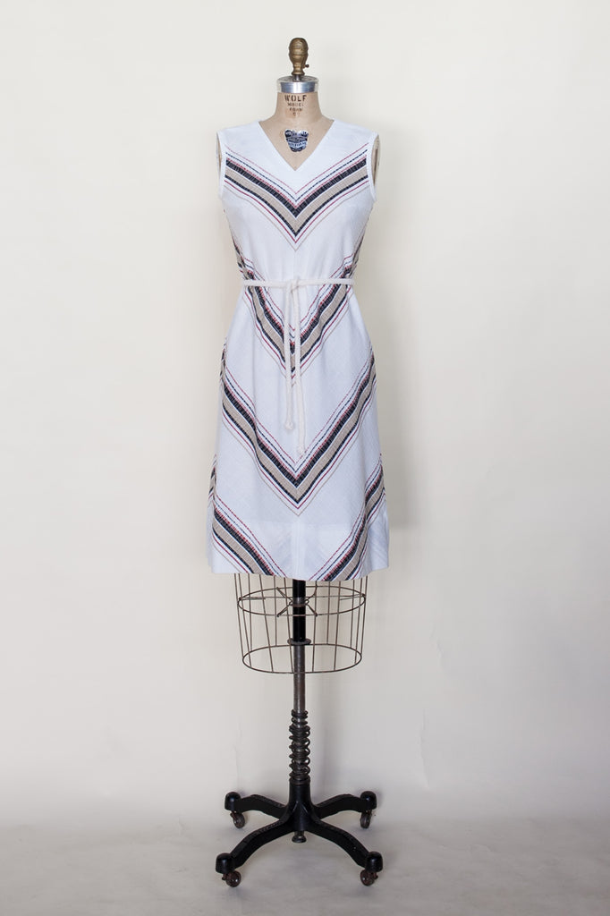 Layla Chevron Dress