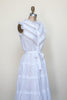 1970s bohemian gauze dress from Dalena Vintage