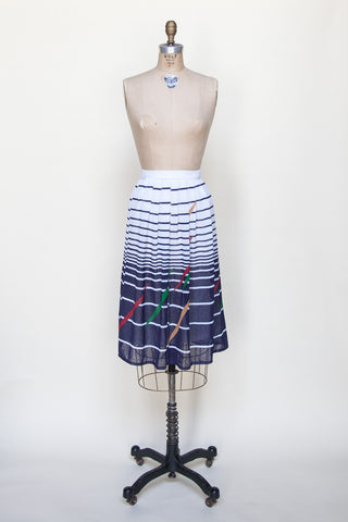 Vintage 1980s skirt from Onebigfishgreenevents
