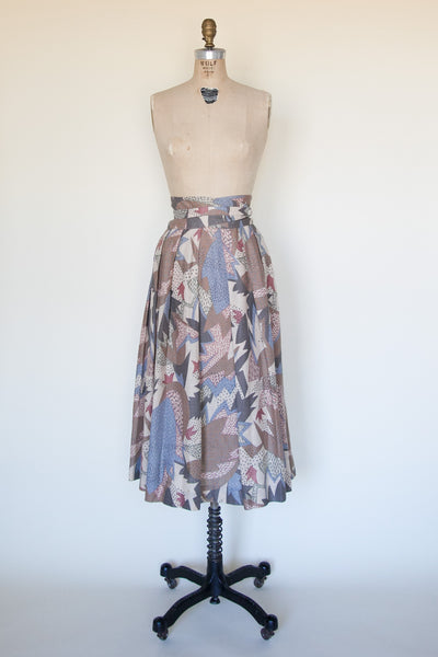 1980s midi skirt from Dalena Vintage