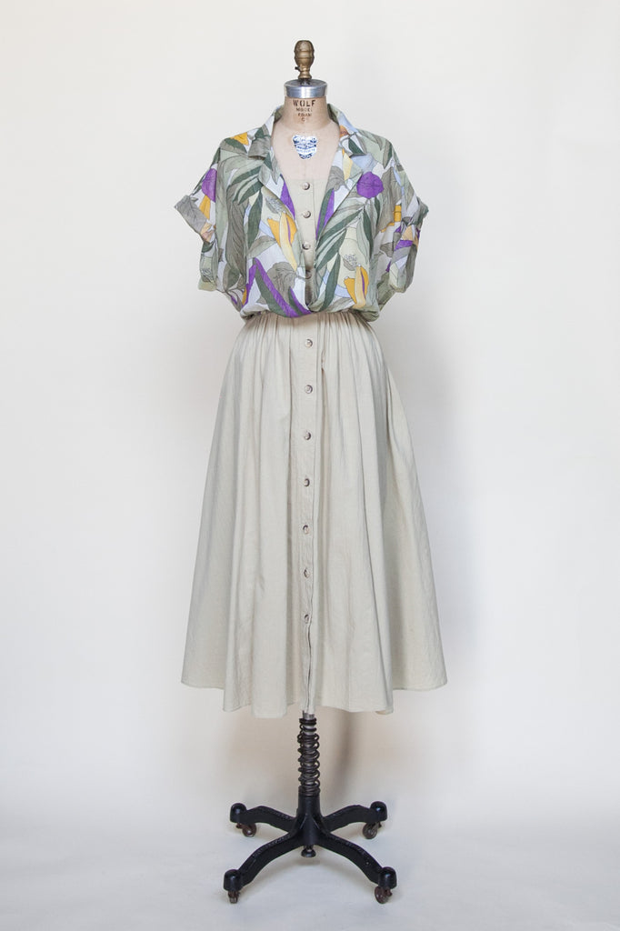 1980s vintage dress from Velvetyogurt
