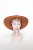 Vintage straw hat from Dalena Vintage