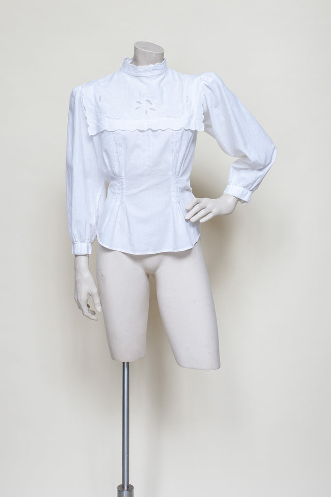 Vintage 1980s blouse from Onebigfishgreenevents