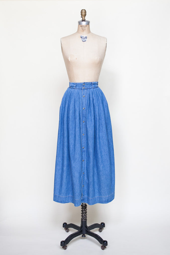 Vintage 90s Esprit Denim Skirt