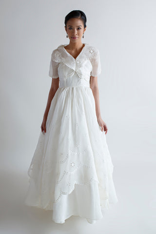 1950s wedding dress from Dalena Vintage