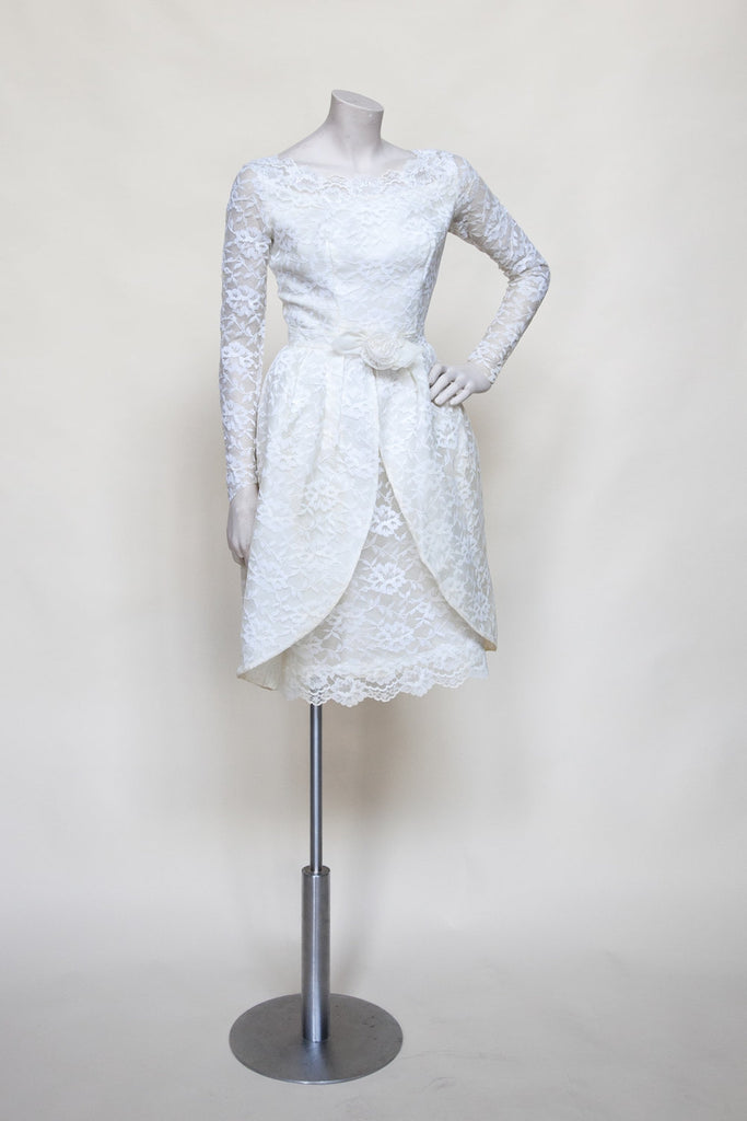 1960s wedding dress from Dalena Vintage