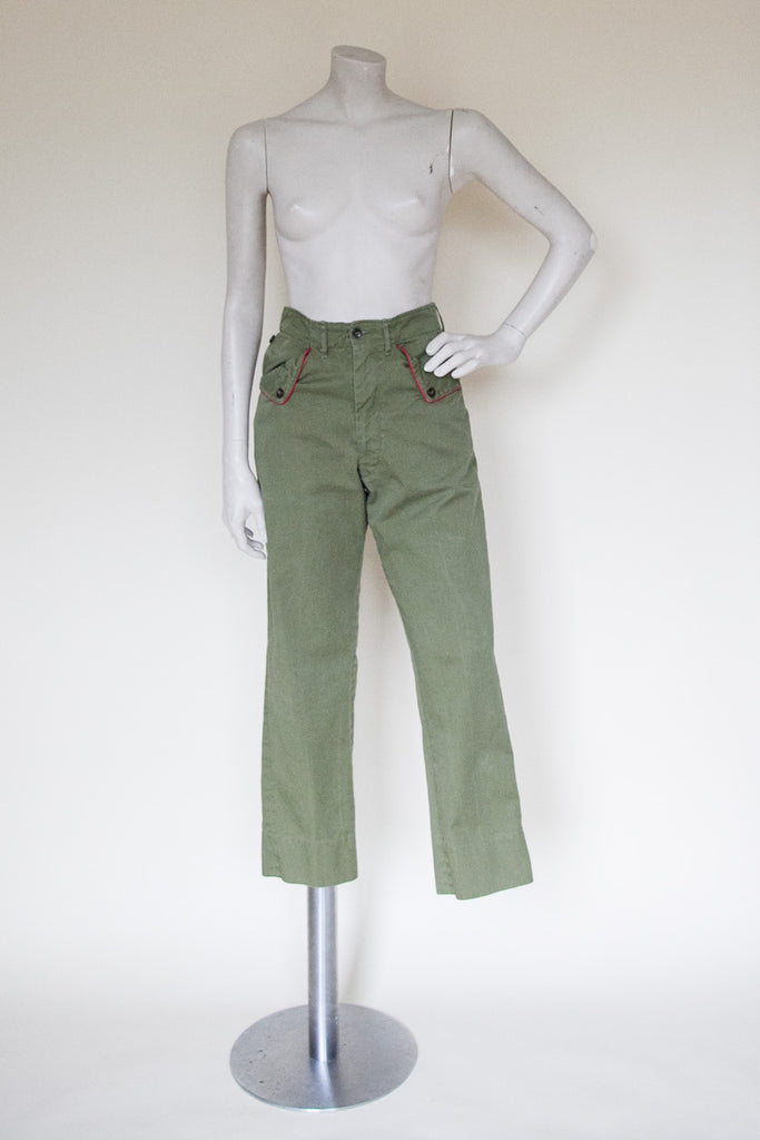 Vintage Boy Scout pants from Onebigfishgreenevents