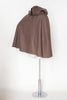 1970s brown cape from Velvetyogurt