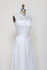 Vintage 1950s wedding dress from Dalena Vintage