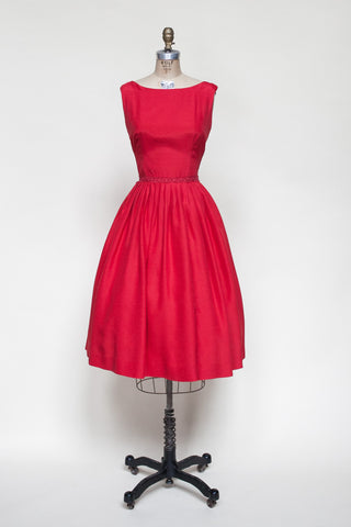 1950s Vicky Vaughn Junior dress