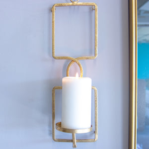 Gold Candle Wall Sconce