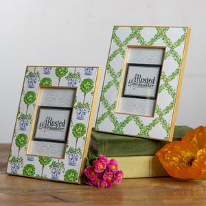 Topiary Picture Frame