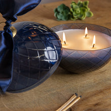 Navy Candle Pot