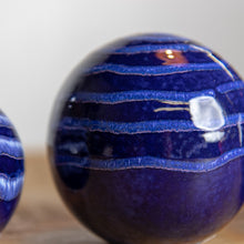 Decorative Blue Spheres