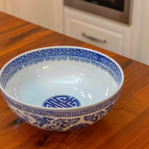 Ceramic Blue & White Bowl
