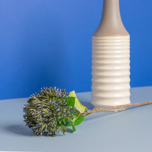 Spiky Wild Flower Blue 21""