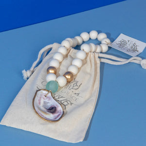 Petite Blessing Beads / Sea Foam Green