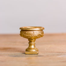 Gold Mini Urn Tea Light Holder