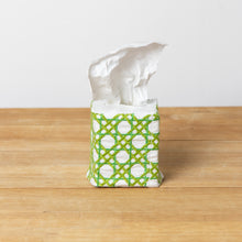 Green Cane Tissue Box Cover