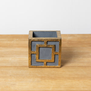 Square Gray Container