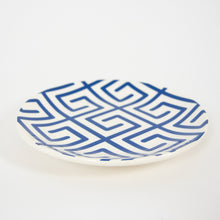 Blue & White Lunch Plate